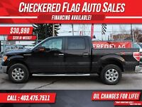 2013 Ford F-150 XTR W/ Heated Leather-Factory Tow-Low KM