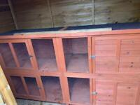 Bluebell hideaway hutch 6ftX2ft