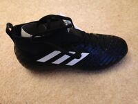 Adidas ace 17.1 kids black sock boots