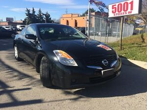 2009 Nissan Altima 2DR,6spd,2.5S,NO ACCIDENT,safety e/t included