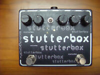 Solidgoldfx Stutter box, tremolo, guitar pedal, perfect condition. Solid Gold FX.