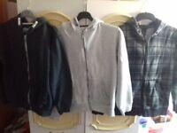 Three hoodies aged 11