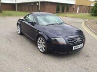 2004 Audi TT 1.8 Quattro 12 months mot 3months warranty (FREE MOT NEXT YEAR)