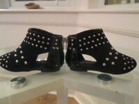 BABY GIRLS BLACK RIVER ISLAND - BOOTS SIZE 5
