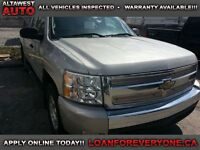 2008 Chevrolet Silverado 1500 LS 4X4 EXT CAB SHORT BOX