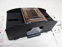 Automatic Card Shuffler for Playing Cards and Poker