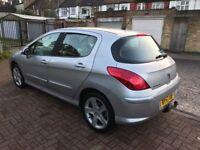 2008 Peugeot 308 1.6 VTi Sport 5dr Manual @07445775115