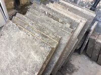 Assorted Concrete Slabs