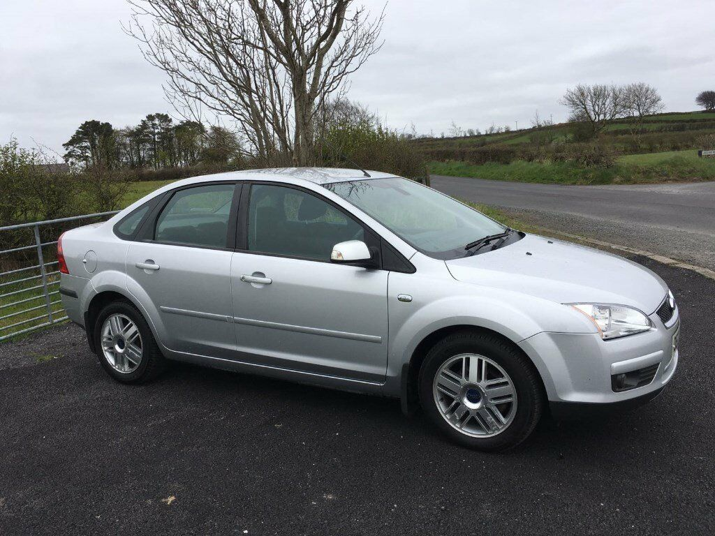2007 Ford Focus 16i Ghia Automatic 4 Door Saloon 12 Months Mot