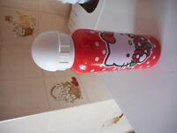 HELLO KITTY BRAND NEW WATER BOTTLE AND SH BAG