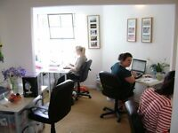 Contemporary self-contained office units in warehouse conversion just off Gloucester Road