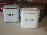 vintage bread bins