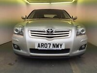 2007 | Toyota Avensis 1.8 T3-X | Auto | Petrol | 1 Former Keeper | Full Main Dealer Service History