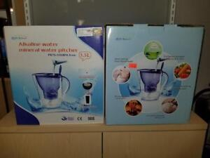 4 Alkaline Mineral Water Pitchers - Brand New - Only $99!