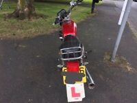 Non-Idler Still drives 125cc Superbyke SB copy of the Honda CG