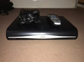 2x Sky+HD boxes one with remote and power plug and one with remote, power plug and set top router