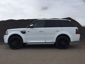 RANGE ROVER 2.7 TDV6 SPORT 2012 FACELIFT IN&OUT+SAT-NAV+TV/DVD 4X4 -ML/X5/X6/F-PACE/CAYENNE/JAG RX