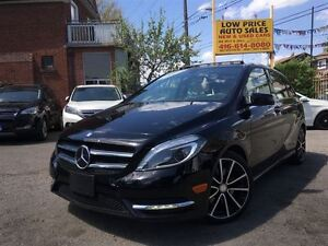2014 Mercedes-Benz B-Class PanoramicRoof,AmbionLights,Camera&MBW
