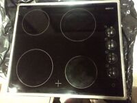 four zone ceramic hob in very good condition