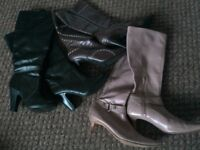 Womens Boots (Three Pairs)