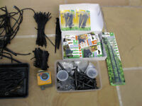 Watering system (used) for sale. Includes pipes, micro tubes, connecters & many Hoselock parts