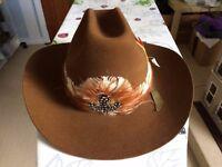 Western 'Stetson' style hat