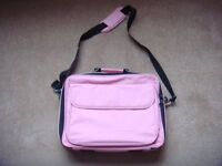 """Pink laptop case for up to 15"""" laptop"""
