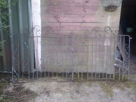 Drive and garden gates