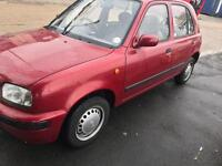 Nissan Micra only 17 k miles