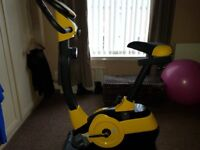 Brand new exercise bike for sale. 6 months old. Paid £110, will accept £60. Will need to collect.