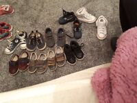 Boys shoes size 5 infant nike air converse clarks gap etc