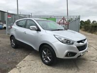 Late 2014 Hyundai IX35 1.7 CRDI S **Full History** (Finance and Warranty) (sportage,rav4,qashqai)