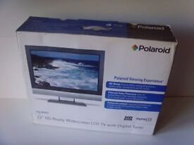 """Polaroid 22"""" HD Widescreen HDMI LCD TV Monitor with Freeview"""