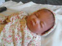ASHTON DRAKE 'HUSH LITTLE BABY' LIFELIKE BREATHING DOLL