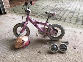 Trek girls 12 inch bike NEW PRICE!