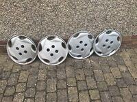 4 off 14 inch Citroen Evian Wheel Trims