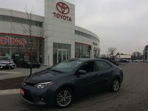 2014 Toyota Corolla LE tech package and warranty until 120000 km