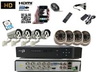 CCTV 8CH Full HD 1080P DVR 2.4MP Night Vision Wide angle Sony Camera Home System