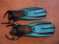 Mares Avantix -3 scuba diving boot Fins x large