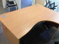 Office right corner desk