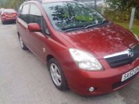 2002 TOYOTA COROLLA VERSO T3..1 OWNER..SERVICE HISTORY