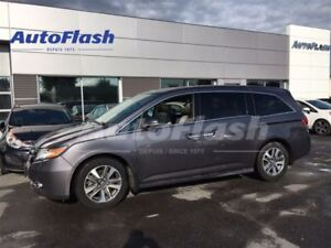 2015 Honda Odyssey Touring * Cuir/Leather* Toit* DVD* Caméra* Na