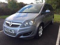 2010/60 Vauxhall Zafira 1.6i Energy - 12 Months MOT - 45,000miles