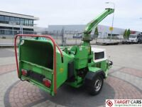 Hire 50HP wood chipper