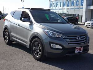 2013 Hyundai Santa Fe Sport 2.4 Luxury | LEATHER | PANO-ROOF | A Stratford Kitchener Area image 18