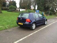 Volkswagen wagen Golf match 1.4 1 year mot HPI clear 85k urgent sale