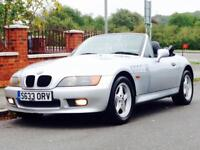 BMW Z3 1.9 ROADSTER 1998 LOW MILEAGE FSH LEATHER INTERIOR CLEAN&RELIABLE CALL NOW