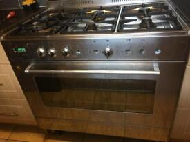 DeLonghi DFS901SS Dual Kitchen Range spares or repairs