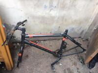 Carrera mountain bike frame
