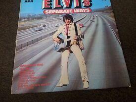 Elvis Presley - Seperate ways album